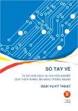 Sổ tay về Tự do hóa dịch vụ chuyên nghiệp qua thừa nhận lẫn nhau trong ASEAN – Dịch vụ kỹ thuật
