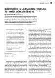 Quản trị rủi ro tại các ngân hàng thương mại Việt Nam và những vấn đề đặt ra