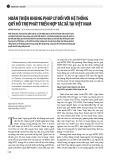 Hoàn thiện khung pháp lý đối với hệ thống quỹ hỗ trợ phát triển hợp tác xã tại Việt Nam