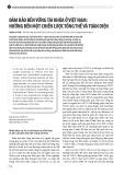 Đảm bảo bền vững tài khóa ở Việt Nam: Hướng đến một chiến lược tổng thể và toàn diện