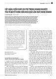 Cắt giảm, kiểm soát chi phí trong doanh nghiệp: Yếu tố quyết định đến hiệu quả sản xuất kinh doanh