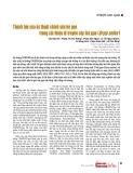 Thành tựu của kỹ thuật chỉnh sửa hệ gen trong cải thiện di truyền cây lúa gạo (Oryza sativa )
