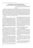 Nghiên cứu ứng dụng enzyme Rohapect trong quá trình sản xuất tiêu trắng từ tiêu đen