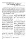 Sự phản hồi sinh trưởng, sinh lý và năng suất của đậu xanh trong điều kiện ngập úng