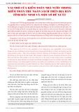 Vai trò của kiểm toán nhà nước trong kiểm toán thu ngân sách trên địa bàn tỉnh Bắc Ninh và một số đề xuất