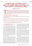 Cơ chế tự chủ tài chính tại các đơn vị sự nghiệp công lập ngành y tế thực trạng và hướng hoàn thiện
