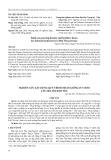 Nghiên cứu xây dựng quy trình nhân giống in vitro cây mía tím Kim Tân