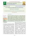 ICT a strategies for knowledge empowerment of the farmers