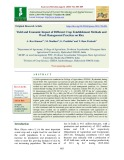 Yield and economic impact of different crop establishment methods and weed management practices on rice