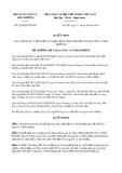 Quyết định 2350/2019/QĐ-BTNMT