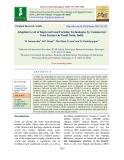 Adoption level of improved goat farming technologies by commercial goat farmers in Tamil Nadu, India