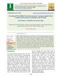 Screening of pearl millet (Pennisetum glaucum) genotypes against smut caused by moesziomyces penicillariae (Bref) vanky
