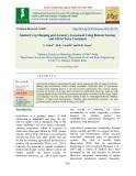 Spatial crop mapping and accuracy assessment using remote sensing and gis in Tawa command