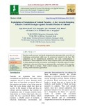Exploitation of adaptations of animal parasites - A key towards designing effective control strategies against parasitic diseases of animals
