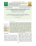 Growth and yield of aerobic rice as influenced by different weed management practices in Tripura, India