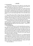 Sáng kiến kinh nghiệm: Phương pháp giải bài tập trắc nghiệm hình học không gian lớp 11 - chuyên đề các bài toán khoảng cách