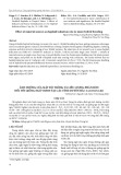 Ảnh hưởng của mật độ trồng và liều lượng phân bón đối với giống ngô VS6939 tại các tỉnh duyên hải Nam Trung Bộ
