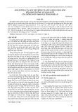 Ảnh hưởng của mật độ trồng và liều lượng phân bón đến sinh trưởng và năng suất của giống ngô VS6939 tại tỉnh Nghệ An