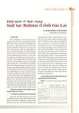 Khái quát về thực trạng luật tục Bahnar ở tỉnh Gia Lai