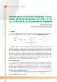 Khảo sát ảnh hưởng của các nhóm thế đến khả năng phản ứng, độ chọn lọc lập thể của phản ứng diels-alder giữa Isopren với CH2  = CH-Y (Y= -H, -C2 H3 , -C6 H5 , -CN, -COOH, -CHO, -NO2 , -CH3 , -OCH3 ) bằng phương pháp hóa học tính toán