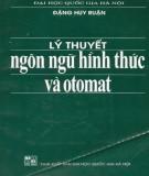 Giáo trình Lý thuyết ngôn ngữ hình thức và otomat: Phần 1