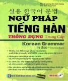 Ngữ pháp tiếng Hàn thông dụng trình độ trung cấp (Phần 2)