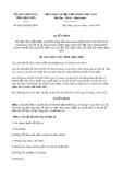 Quyết định 08/2020/QĐ-UBND tỉnh LạngSơn