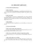 Bài giảng Quản trị học - Chương 7b: Các hình thức kiểm soát