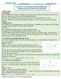 Bài giảng Chuyên đề Vật lý 11 - Chương 4: Chủ đề 1