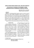 Evaluation of changes of dopamine plasma concentration in parkinson s disease patients