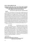 Nghiên cứu kiểu gen CYP1A1 tại vị trí đa hình rs4646903 và mối liên quan với nồng độ dioxin máu ở người phơi nhiễm chất độc hóa học dioxin
