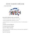 Cấu trúc của bộ tiêu chuẩn ISO 9000
