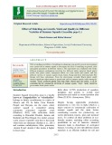 Effect of mulching on growth, yield and quality in different varieties of summer squash (Cucurbita pepo L.)