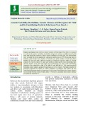 Genetic variability, heritability, genetic advance and divergence for yield and its contributing traits in Faba bean (Vicia faba L.)