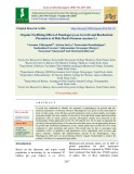Organic fertilizing effect of panchagavya on growth and biochemical parameters of holy basil (Ocimum sanctum L.)