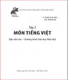 Cẩm nang sự phạm môn Tiếng Việt tiểu học: Phần 2