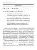 Development, optimization, and characterization of PEGylated nanoemulsion of prostaglandin E1 for long circulation