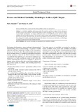 Process and method variability modeling to achieve QbD targets