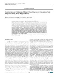 Construction and validation of binary phase diagram for amorphous solid dispersion using flory–huggins theory