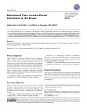 Educational case: Invasive ductal carcinoma of the breast