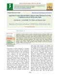 Appraisal of asiatic hybrid lilium cultivars under polyhouse growing condition in semi-arid Haryana, India