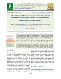 Effect of integrated nutrient management on growth, yield and economics of guava (Psidium guajava L.) cv. allahabad safeda