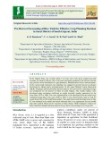 Pre-harvest forecasting of rice yield for effective crop planning decision in Surat district of South Gujarat, India