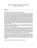 Khảo sát về Tích hợp CNTT trong giáo dục tại Việt Nam