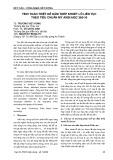 Tính toán thiết kế dầm thép khoét lỗ liên tục theo tiêu chuẩn Mỹ ANSI/AISC 360-16