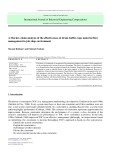 A Markov chain analysis of the effectiveness of drum-buffer-rope material flow management in job shop environment