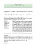 Consolidation centers in city logistics: A cooperative approach based on the location routing problem