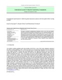 Multiobjective optimization in delivering pharmaceutical products with disrupted vehicle routing problem