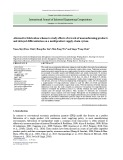 Alternative fabrication scheme to study effects of rework of nonconforming products and delayed differentiation on a multiproduct supply-chain system