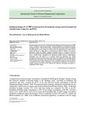 Optimum design of a CCHP system based on Economical, energy and environmental considerations using GA and PSO